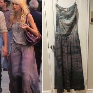 Gypsy 05 Tie dye maxi dress M Gossip Girl Jenny